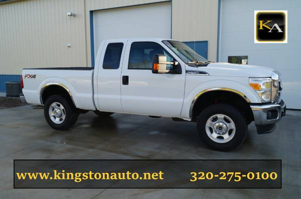 2012 Ford F250 XLT - Extended Cab - 4WD 6.2L Gas