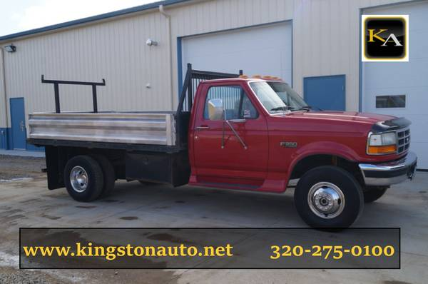 1997 Ford F350 XLT - 11ft Flatbed - 4WD 7.3L Diesel