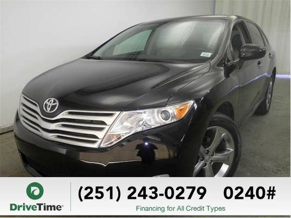 2010 Toyota Venza AWD V6 (BLACK) - Beautiful & Clean Title