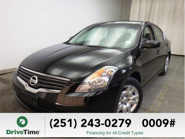 2009 Nissan Altima 2.5 (BLACK) - Beautiful & Clean Title