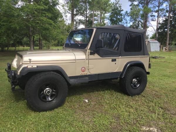94 Jeep Wrangler SARAHA