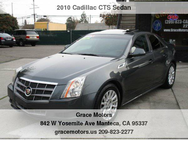 2010 Cadillac CTS Sedan 4dr Sdn 3.0L Luxury RWD Your Job is Your...