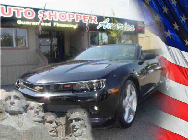 2015 *Chevrolet* *Camaro* -YOU JOB IS YOUR CREDIT!!