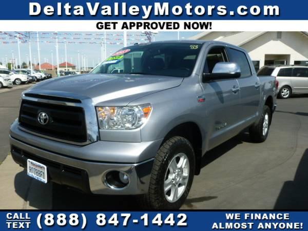 2013 *Toyota Tundra* CrewMax Pickup 4D 5 1 2 ft Truck