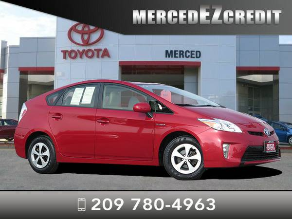 *2013* *Toyota Prius* *Barcelona Red*