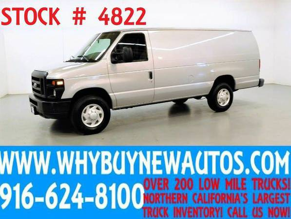 2009 *Ford* *E350* ~ Extended ~ Cargo Van ~ Only 27K Miles!