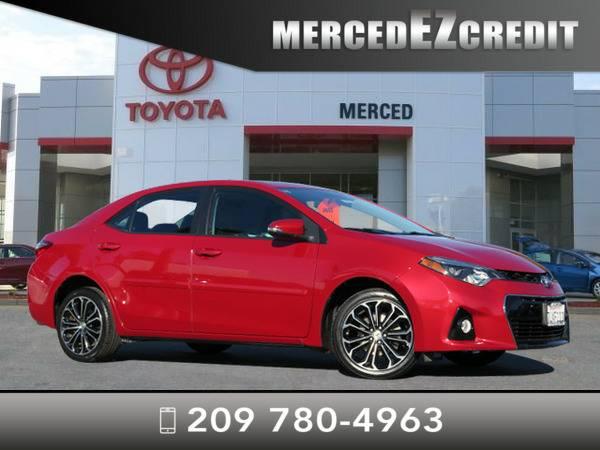 *2015* *Toyota Corolla* *Barcelona Red*