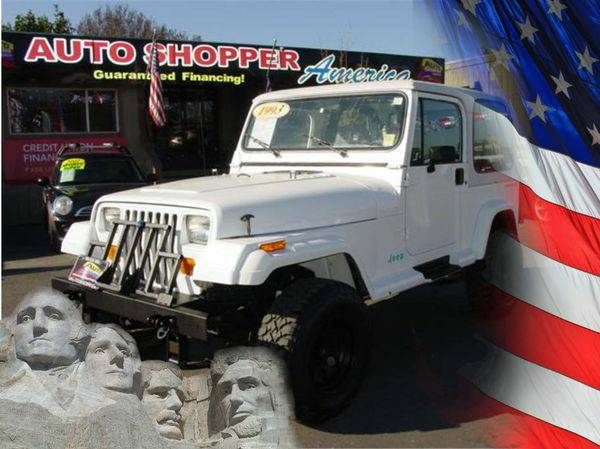 1993 *Jeep* *Wrangler* -YOU JOB IS YOUR CREDIT!!