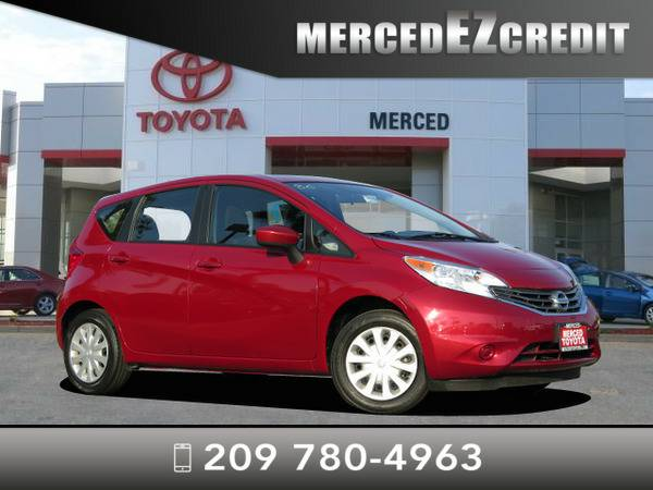 *2015* *Nissan Versa Note* *Red Brick*
