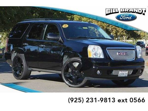2008 *GMC Yukon* Denali 4D Sport Utility (Black)