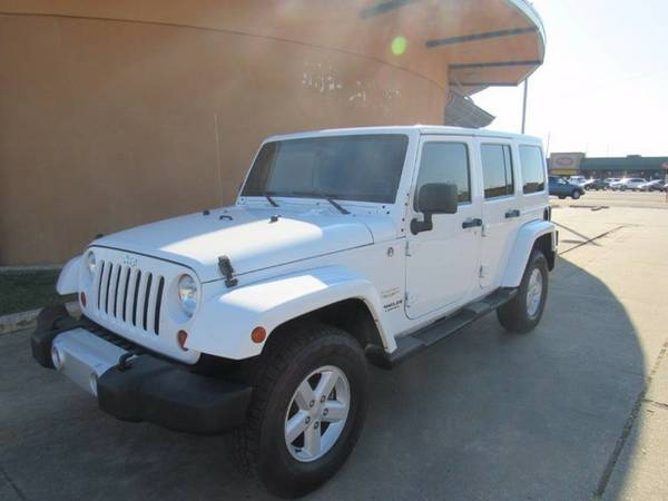 2013 Jeep Wrangler Unlimited - Call