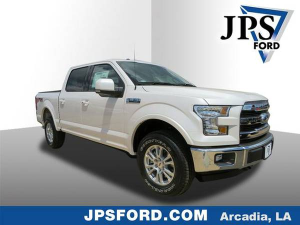 2016 Ford F-150 White Platinum Metallic Tri-Coat PRICED TO SELL!