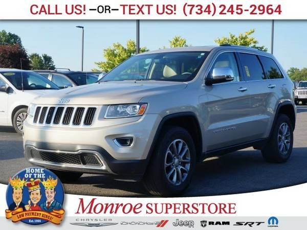 2014 Jeep Grand Cherokee Limited SUV Grand Cherokee Jeep