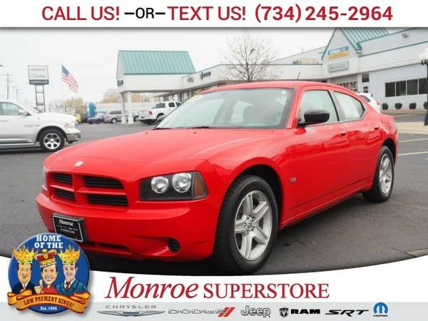 2008 Dodge Charger Base Sedan Charger Dodge