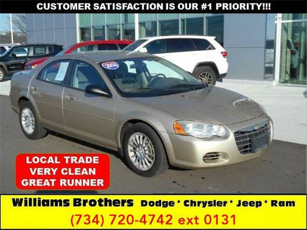 2006 *Chrysler Sebring* Base 4dr Sedan (Beige)