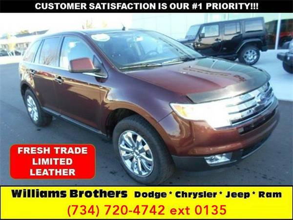 2009 *Ford Edge* Limited 4dr SUV (Brown Metallic)