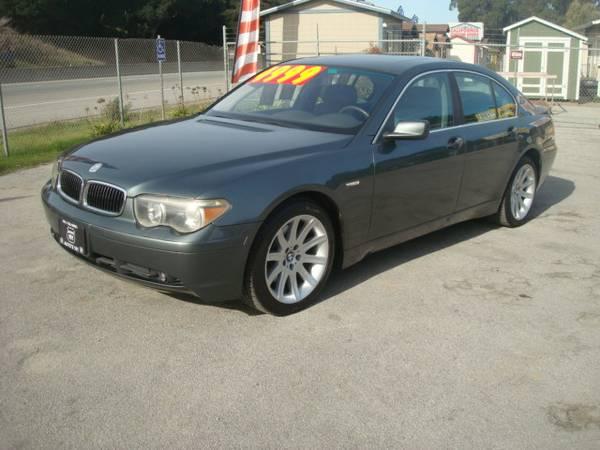 2002 BMW 745I SEDAN EXTRA NICE EXTA CLEAN RUNS GREAT