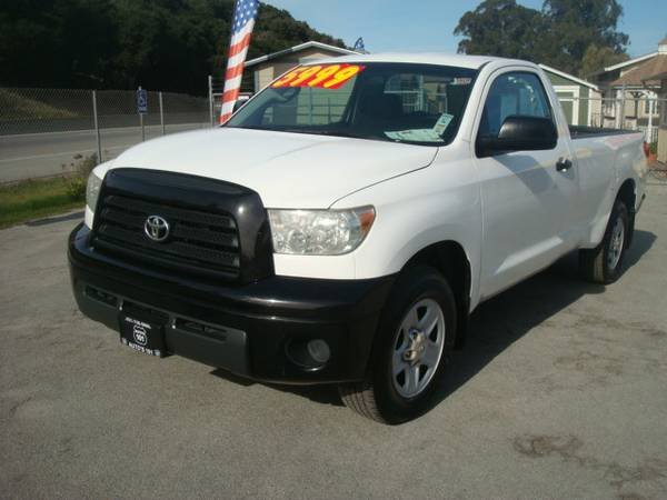 2007 TOYOTA TUNDRA REGULAR CAB PICK UP NICE AND CLEAN