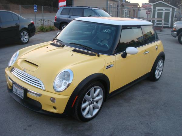 2003 MINI COOPER S HATCHBACK GAS SAVER LOADED UP NICE
