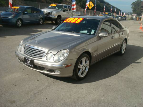 2004 MERCEDES-BENZ E500 SUPER NICE AND CLEAN WOW!!!