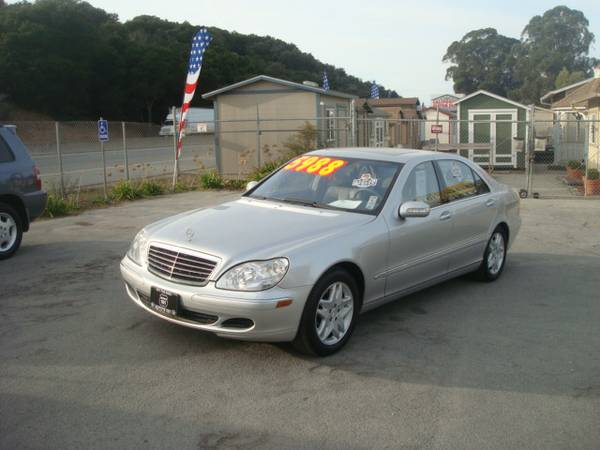 2003 MERCEDES BENZ S430 SEDAN LEATHER RUNS AND DRIVES GREAT SUPER NICE