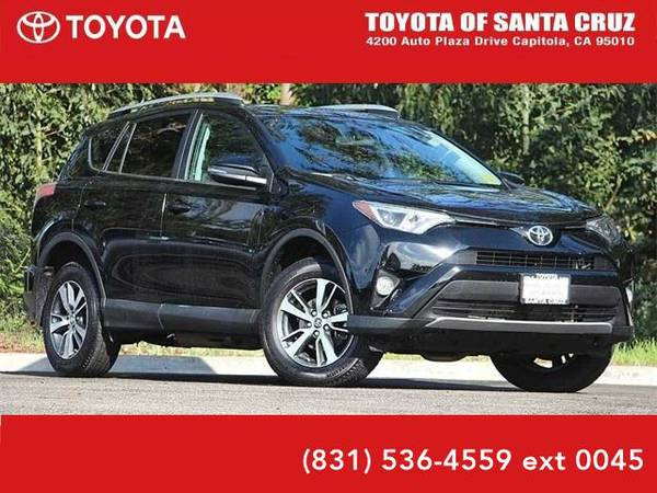 2016 *Toyota RAV4* XLE (Black)