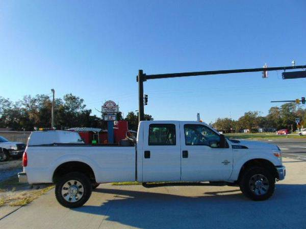 2011 Ford F-350 Super Duty 4x4 XL 4dr Crew Cab 8 ft. LB SRW Pickup