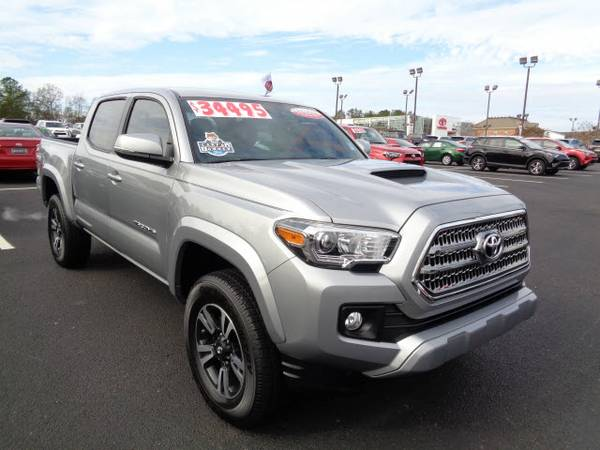 Certified: 2016 Stock 0017225A Toyota Tacoma 4x2 TRD Sport 4dr Double