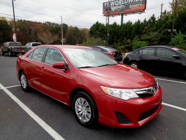 Certified: Toyota Stock 000C1206 2013 Camry LE 4dr Sedan LE 26,803...