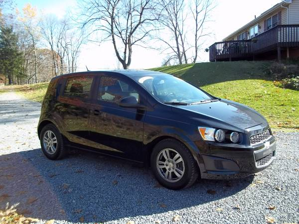 2012 CHEVY SONIC ,LOW MILES  NEW INSPECTION!