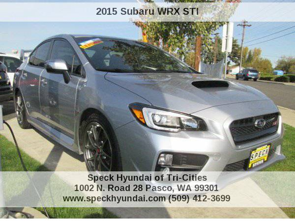 2015 Subaru WRX STI Limited Speck Hyundai of Tri-Cities