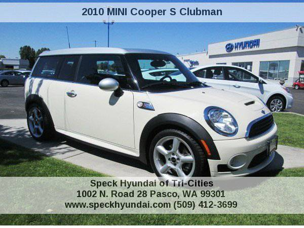 2010 MINI Cooper S Clubman Speck Hyundai of Tri-Cities