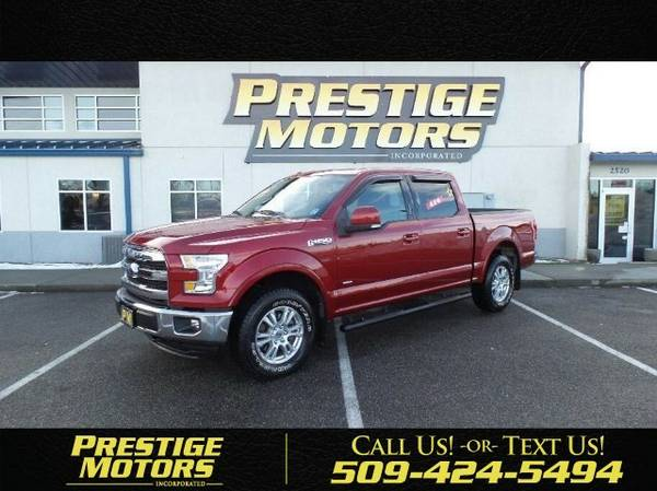 2015 Ford F-150 Lariat Pickup 4D 5 1/2 ft Truck F-150 Ford