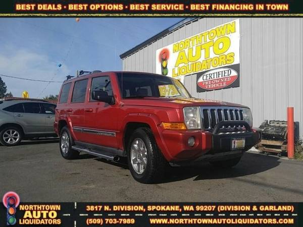 ===>>2006 Jeep Commander Limited st#43700
