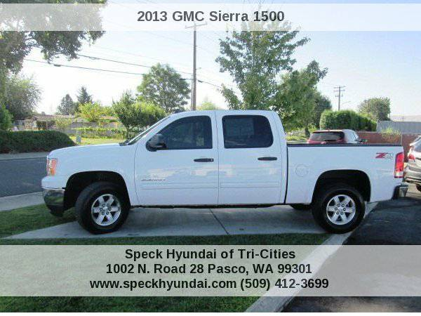 2013 GMC Sierra 1500 SLE1 Speck Hyundai of Tri-Cities