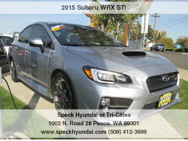 2015 Subaru WRX STI Limited with