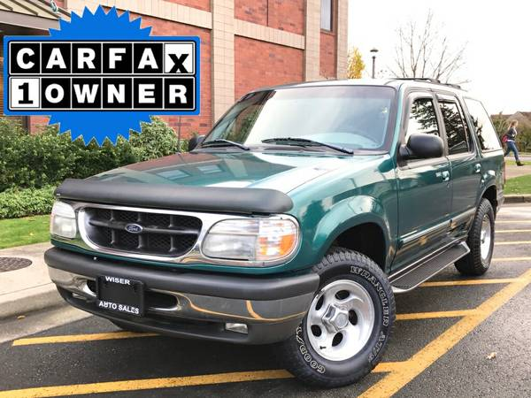**** 1998 Ford Explorer 4WD - ULTRA LOW 42K - EXCELLENT CONDITION ****