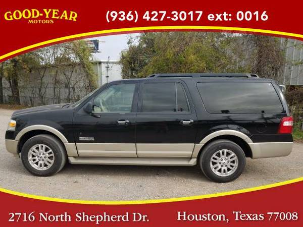 2008 *Ford Expedition* EL Eddie Bauer 2WD NO CREDIT CHECK REQUIRED!