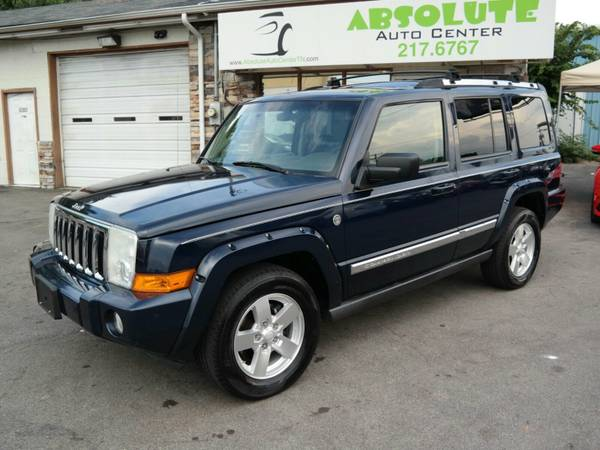 2006 *Jeep Commander Limited*||Navigation - 4X4 - Command-View Sky||