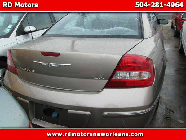 2003 *Chrysler* *Sebring* LX Coupe