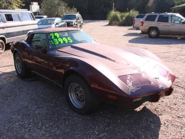 1979 CHEVROLET CORVETTE-V8-FATHER SON PROJECT!-VISIT OUR WEBSITE