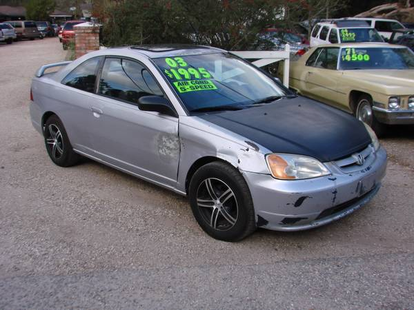 2003 HONDA CIVIC EX-SUPER DEALS!-VISIT OUR WEBSITE