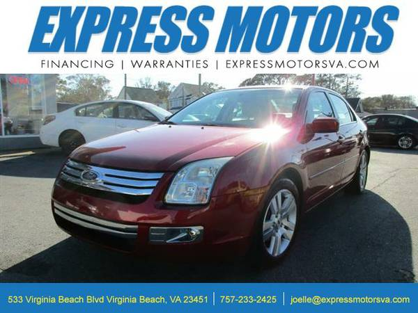2009 Ford Fusion V6 SEL AWD