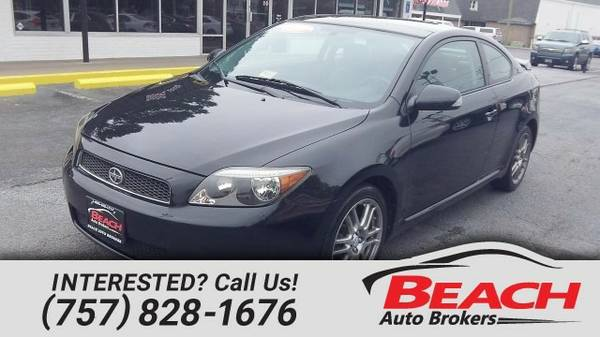 2007 Scion tC CARFAX CERTIFIED, MOONROOF, LEATHER SEATS, PREMIUM...