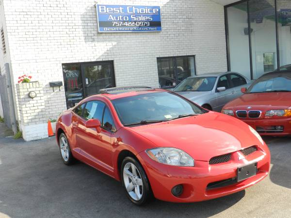 2006 Mitsubishi Eclipse GS Clean Sport Car Financing Available!!!