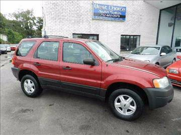 2004 Ford Escape XLT V6 Leather Seats Sunroof CleanFamily SUV!!!
