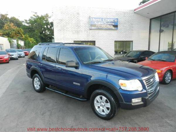 2007 Ford Explorer XLT 4 dr SUV Financing Available !!!