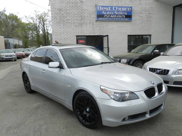 2004 BMW 525I 6Speed Clean Sport Car Financing Available !!!