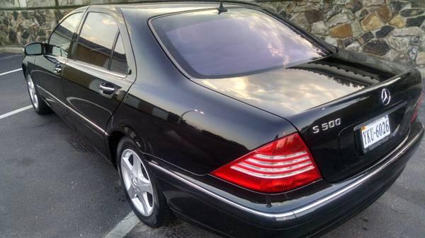 04 Mercedes S500