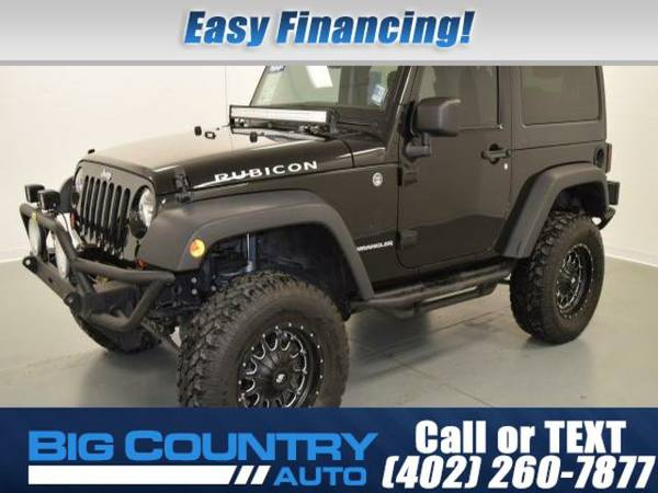 2013 Jeep Wrangler 4WD 2dr Rubicon Sport Utility 4WD 2dr